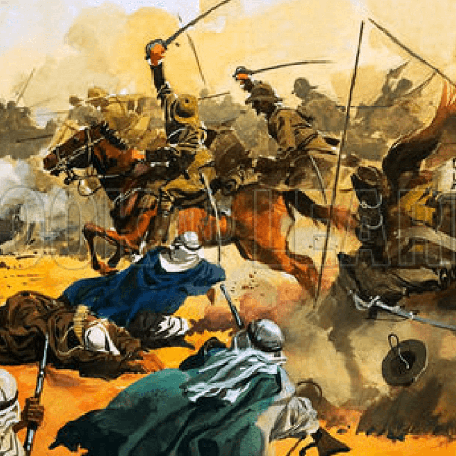 The Charge at Omdurman | RLNY Museum